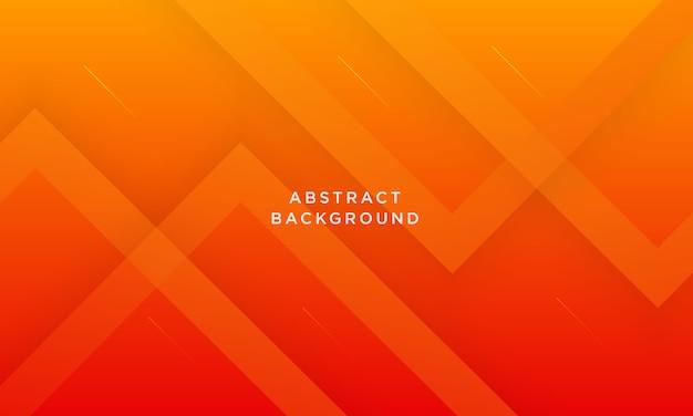 抽象的な幾何学的なオレンジ色の背景