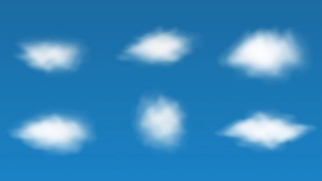 Реалистичное облако, облако на фоне неба