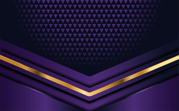 オーバーラップ層と豪華な紫色の背景