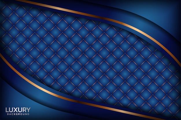 Абстрактный королевский синий фон