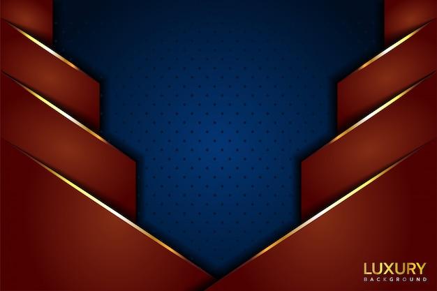 Роскошный синий коричневый фон