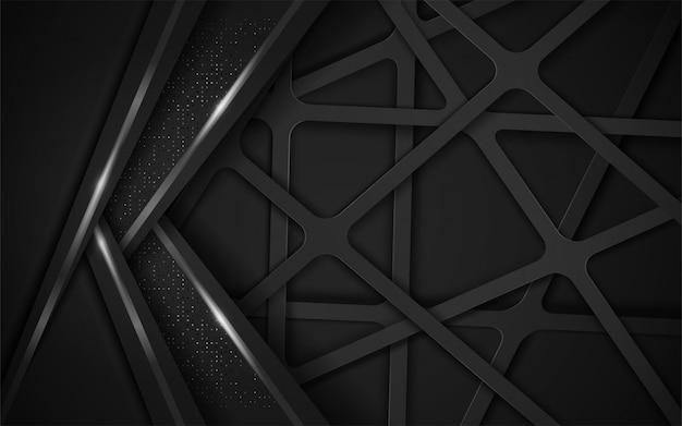 Современный абстрактный темный фон.