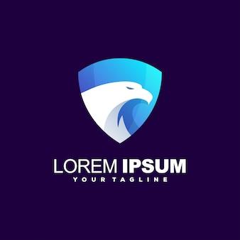 Удивительный логотип щита орла