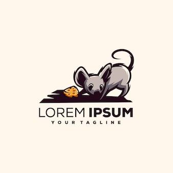 Крыса логотип вектор