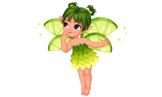 Милая маленькая лимонная фея