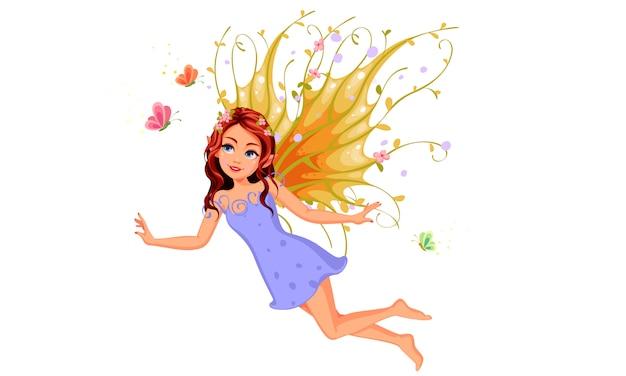 美しい自然の妖精