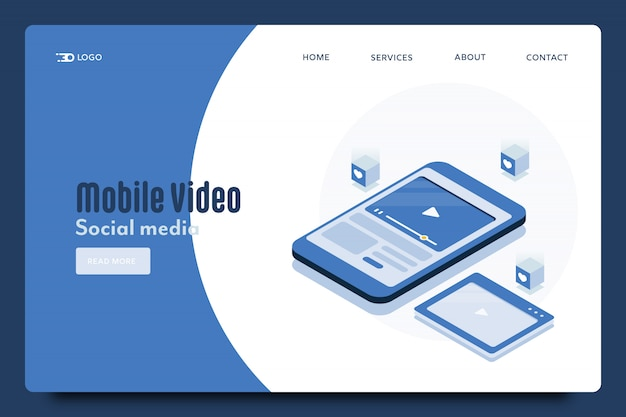 Мобильное устройство с видео