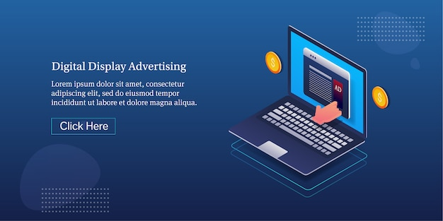 デジタル表示広告バナー