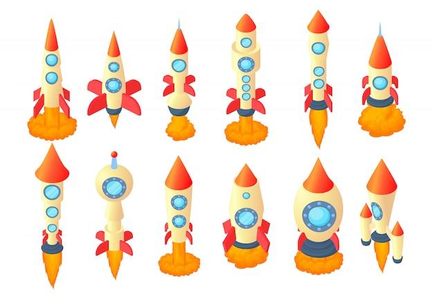 ロケットのアイコンを設定