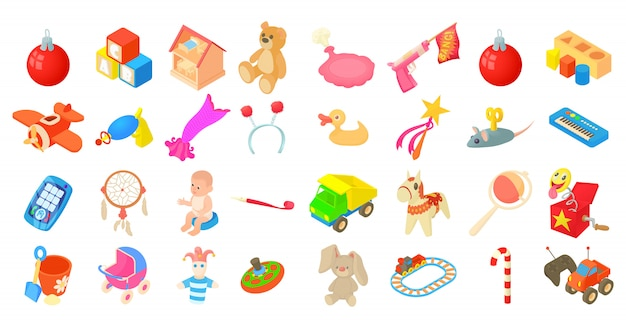 おもちゃのアイコンセット