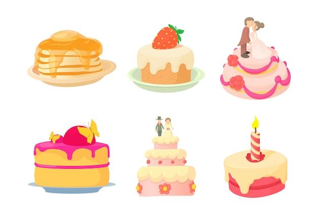 ケーキのアイコンを設定