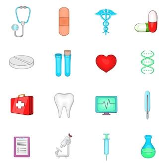 Набор медицинских иконок