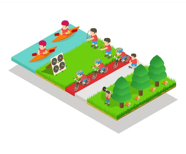 Концепция спортивного парка