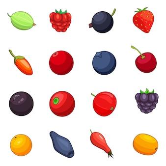 果実のアイコンを設定