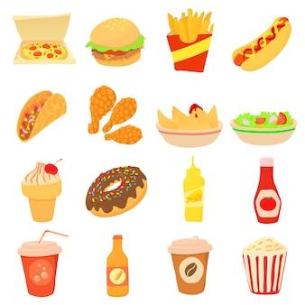 Набор иконок быстрого питания