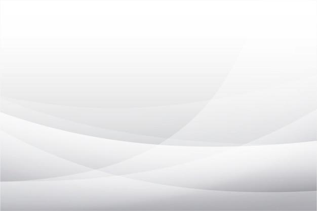 抽象的な白い形状曲線の背景。