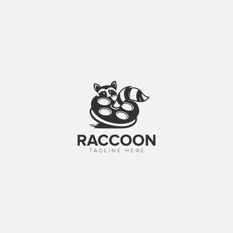 アライグマスタジオのロゴ