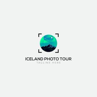 アイスランドライトフォトツアーのロゴ