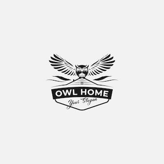 フクロウの家のロゴ