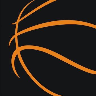 バスケットボールボールのアイコン