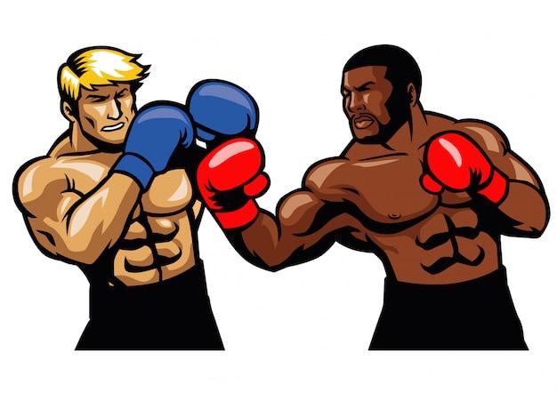 ボクシングの戦い