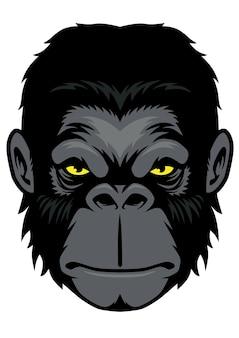 猿頭のマスコット