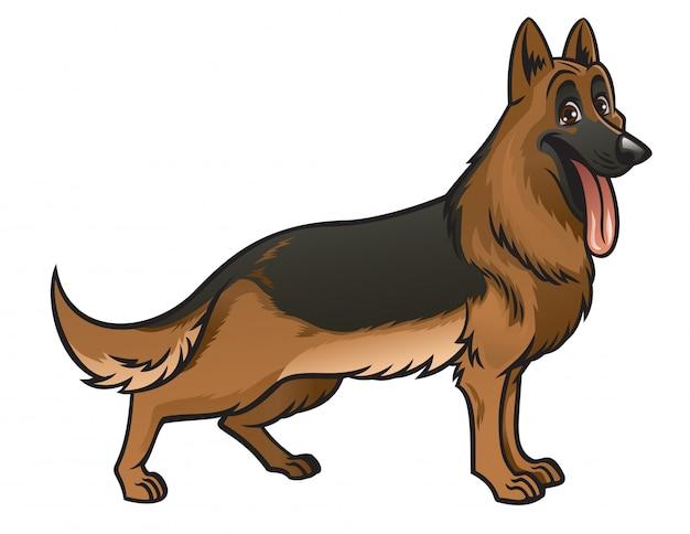 ジャーマン・シェパード犬