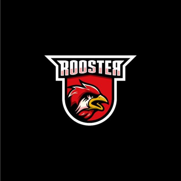Петух спортивный логотип