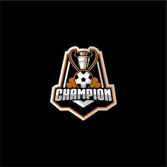 Футбольный чемпион логотип
