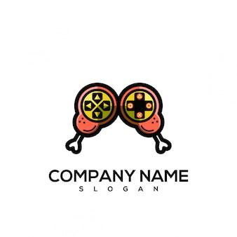 Логотип игры курица