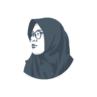 ベールの女性キャラクター