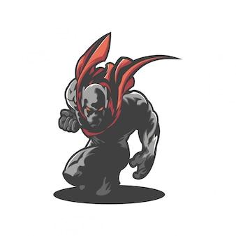 Логотип воин