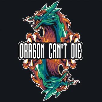 ドラゴンヘッドの図