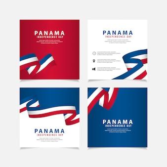 パナマテンプレートの独立記念日。