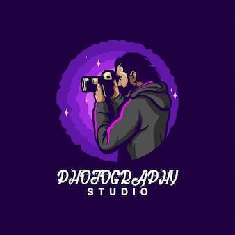 写真のロゴデザイン