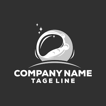 ムーン宇宙飛行士のロゴ