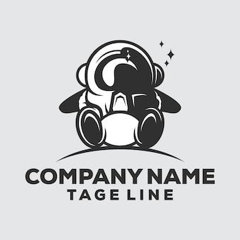 Логотип космонавта