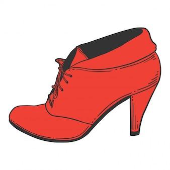 ハイヒールの靴