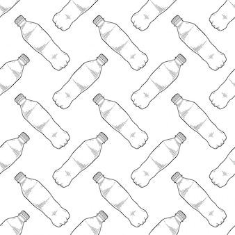 Бутылка с водой.