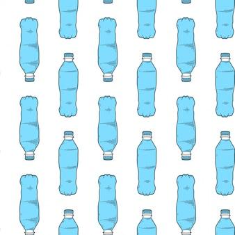 水のボトル。