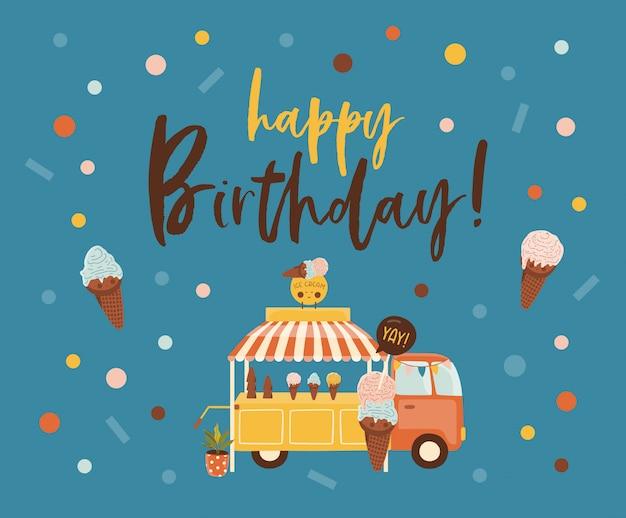 お誕生日おめでとうカード。