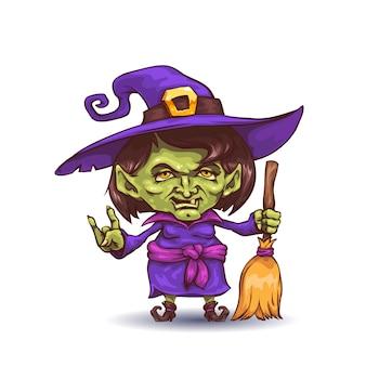 Мультфильм ведьма