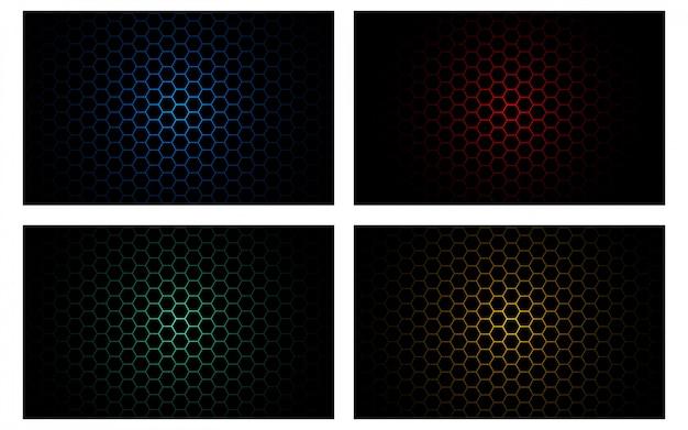 抽象的なメタリックレッドブラックフレームレイアウトデザイン技術革新コンセプトの背景
