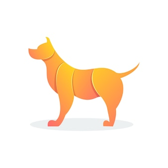 Собака современной формы