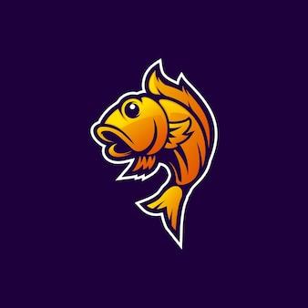 オレンジ色の魚