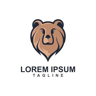 ライオンマスコットのロゴのテンプレート