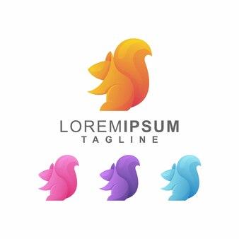 Красочный логотип белка