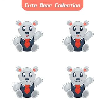 Медведь с костелем дизайна животных коробки