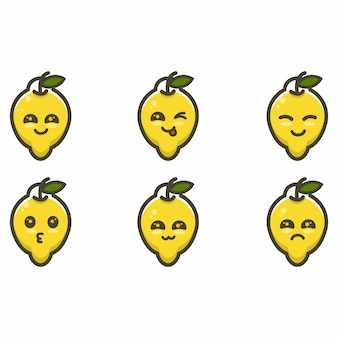 Лимонный талисман мультфильма