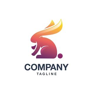 Логотип кролика